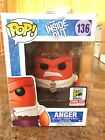 Funko Pop! Disney Inside Out Anger #136 SDCC 2015 Limited Edition Exclusive