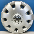 "ONE '05-10 VW Jetta Rabbit Golf # 61552 15"" Hubcap Wheel Cover 1T0601147RGZ USED"