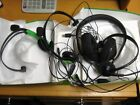 XBOX 0NE HEADSETS 4 PAIRS ALL ARE FOR PARTS / JUNK / REPAIR  I IS IN ORIG. BOX