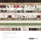 GYPSY ROSE Collection 65 inch Paper Pad Scrapbooking Kit Kaisercraft PP1048 New