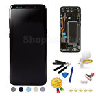 Samsung Galaxy S8  S8 Plus LCD Touch Screen Digitizer Replacement W Frame USA