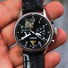 JUNKERS OPEN HEART chronograph watch 6524/1632 working condition
