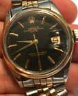 Rolex Oyster Perpetual Mens SS Model 1002 Watch On Jubilee Band 1967