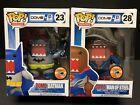Funko Pop Domo Batman Man Of Steel 2013 SDCC Lot Of 2 Damaged Box EM0496