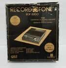Vintage Answering Machine QT&T RECORD-O-FONE ROF 5300Complete