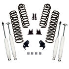 Alloy USA 25 Suspension Lift Kit With Shocks for Jeep Wrangler JK 2 Door