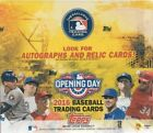 2016 Topps OPENING DAY Baseball Factory Sealed Unopened Retail Box of 36 Packs