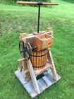 VINTAGE APPLE CIDER PRESS with ATTACHED GRINDER - WORKS GREAT!