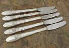 IS First Love Set of 5 Grille Knives 1847 Rogers Silverplate Flatware Lot D