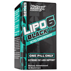Nutrex Research Lipo-6 Black Hers Ultra Concentrate Weight Loss Pills for Women