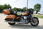 2016 Harley Davidson Touring ULTRA LIMITED FLHTK 2016 HARLEY DAVIDSON ELECTRA GLIDE ULTRA LIMITED FLHTK AMBER WHISKEY AND BLACK