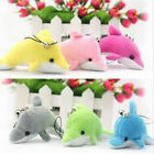 Cute Plush Dolphin Lovely Pendent Women Purse Handbag Key Ring Chain Phone Acc