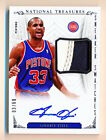 2013-14 National Treasures Grant Hill Sneaker Swatches Shoe Patch Auto (03 60)