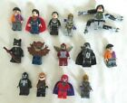 LEGO Super Heroes Minifigure, YOU CHOOSE, Superman, Spiderman, Iron Fist
