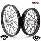 KKE 21/18 Enduro Casting Wheels Set For KTM EXC EXC-F XCW 125-530 03-20 Silver