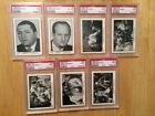 Lot(14) 1989 FTCC The 3 Stooges RED BACK GRADED CARDS, ALL HIGH GRADE PSA (LOOK