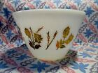 Vintage Fire King Fred Press Splash Proof Mixing Bowl in Excellent Condition