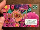 "Starbucks Gift Card 2014 ""Happy Mom Day"" Flowers Mother Cheer Holiday No $ Value"