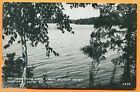 Winegar, WI, View of Big Horsehead Lake from Armor Point, Cook RPPC 3278 1940s