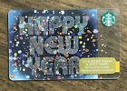 "Starbucks Gift Card 2015 ""Happy New Year"" Firework Confetti Holiday No $ Value"
