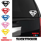 Superman Vinyl Decal Sticker Comic Superhero Logo Window Car Truck Any Size