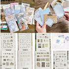 45Pcs DIY Scrapbooking Crafts Stickers Vintage Memories Writable Paper Stickers