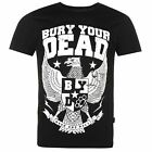 Bury Your Dead Mosh and Roll Eagle T Shirt Mens Black Casual Wear Top Tee Shirt