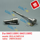 ERIKC Injector Overhaul Kit Nozzle DLLA156P1114 Valve F00VC01033 for 33800-4A000