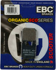 EBC Organic Brake Pads for Italjet Formula50 (Liquid Cooled) 1996-2003