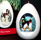 NEW 1990 HALLMARK Ornament WINTER SURPRISE 2nd in Series QX4443 Penguin MIB