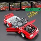 GMP 18904 1988 FORD MUSTANG CONVERTIBLE RED MARRIED WITH CHILDREN DIECAST 118