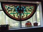 Antique church window stained glass many colors all original glass Madison FL