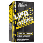 Nutrex Research Lipo-6 Black INTENSE Ultra Concentrate Weight Loss 60 Capsules
