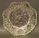 *Vintage* Federal Glass Pioneer Clear Pattern Large Fruit Serving Bowl USA Made