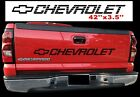 Chevy Bow Decal Silverado Tailgate Sticker Pickup Truck 1500 1990 - 2018 Vehicle