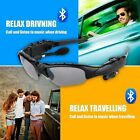 Sunglasses bluetoooth Headset Earphone handssfree Phone Call For iPhone Gray