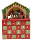 Wooden Nativity Advent Calendar Premier Decorations Ltd Delivery is Free