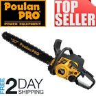 Poulan Pro 20 inch in 50cc Two 2 Cycle Gas Powered Engine Wood Cutting Chainsaw