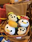 Picnic Tsum Tsum Set Plush Disney Parks Authentic NEW
