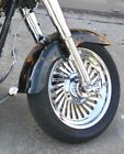 Harley Softail Fatboy Custom Cut Turbine 2007 Chrome Rims Wheels Exchange Sale