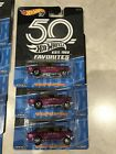 Hot Wheels 50th Anniversary Favorites 55 Chevy Belair Gasser Lot Of 3
