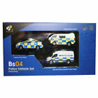 TINY HONG KONG BS04 POLICE VEHICLE SET DIECAST CAR MODEL 110573