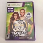 The Biggest Loser Ultimate Workout Microsoft Xbox 360 Kinect Tested Complete