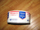 """⭐NEW⭐ 250 count USPS Priority Mail Stickers Tape Roll (size: 3"""" x 1-7/8"""" ea.)"""