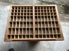 Letterpress Antique Printers Wood Type Case Drawer Tray Shadowbox #3