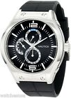 Nautica Men's N19558G NMC 200 Multifunction Black Steel Watch