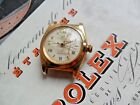 Solid 14k Gold 1947 Men's Rolex Bubble Back BB Oyster Perpetual Swiss Watch