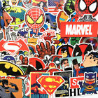 NEW 50 Pcs Lot Stickers For MARVEL Super Hero DC For Car Laptops Notebook Decal