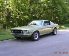 1967 Ford Mustang FASTBACK GT 390 S CODE 1967 FASTBACK GT 390 S CODE FACTORY 4SPD NOW AUTO SOLID BEAUTIFUL LIME GOLD NICE