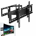 Full Motion Flat Curved TV Wall Mount Bracket For Samsung LG Sony LED LCD 30 75